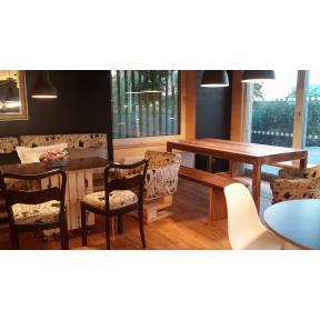 Interiér kavárny Vlna